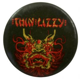 Thin Lizzy - 'Dragon' Button Badge